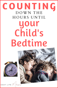 "Do you ever find yourself counting down the hours until your child's bedtime? You are not alone. You are not a ""bad"" mom. Please if you are reading this and feeling awful it's okay!"