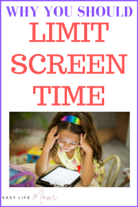Parents need to limit screen time for their child to avoid obesity, poor sleep & loss of social skills. Here are 5 easy ways to limit screen time.